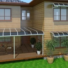 DIY Solid Polycarbonate Awning Kits